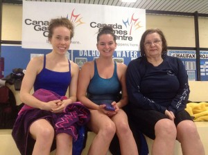 Our speedy Masters, (left to right) Carmen, Gabrielle and Ewa