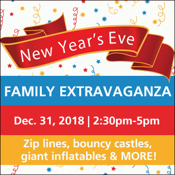 New Year's Eve Family Extravaganza graphic